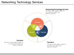 Networking Technology Services Ppt Powerpoint Presentation File Graphics Pictures Cpb