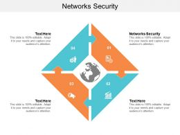 Networks Security Ppt Powerpoint Presentation Ideas Graphics Design Cpb