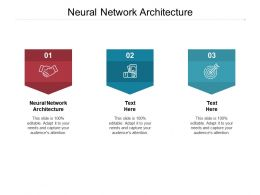Neural Network Architecture Ppt Powerpoint Presentation Pictures Example File Cpb