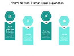 Neural Network Human Brain Explanation Ppt Powerpoint Presentation Ideas Slide Portrait Cpb