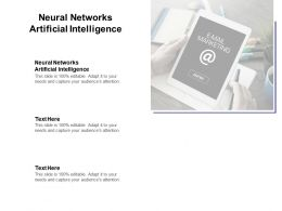 Neural Networks Artificial Intelligence Ppt Powerpoint Presentation Model Cpb