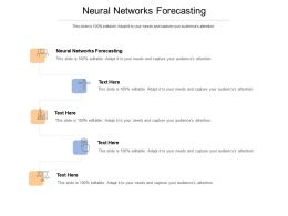 Neural Networks Forecasting Ppt Powerpoint Presentation Summary Example Topics Cpb