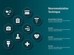 Neuromodulation Technique Ppt Powerpoint Presentation Layouts Backgrounds