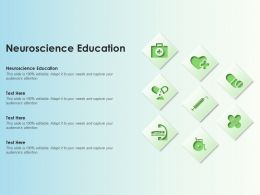 Neuroscience Education Ppt Powerpoint Presentation Gallery Slide