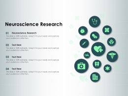 Neuroscience Research Ppt Powerpoint Presentation Styles Influencers