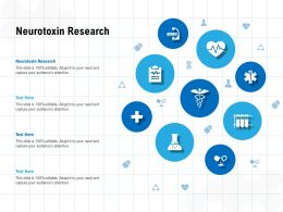 Neurotoxin Research Ppt Powerpoint Presentation Layouts Guidelines