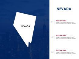 Nevada Powerpoint Presentation PPT Template