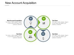 New Account Acquisition Ppt Powerpoint Presentation Information Cpb