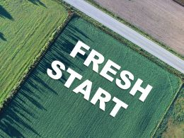 New Beginning Fresh Start Opening Agriculture Farm Greenery