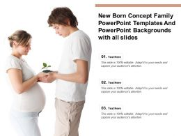 New Born Concept Family Templates Backgrounds With All Slides Ppt Powerpoint