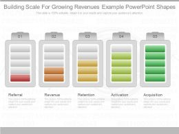 New Building Scale For Growing Revenues Example Powerpoint Shapes