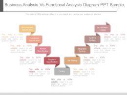 new_business_analysis_vs_functional_analysis_diagram_ppt_sample_Slide01
