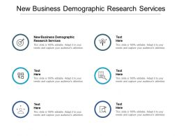 New Business Demographic Research Services Ppt Powerpoint Presentation Icon Cpb