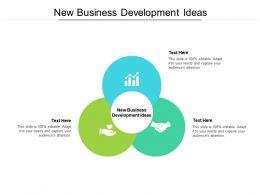 New Business Development Ideas Ppt Powerpoint Presentation Styles Layout Ideas Cpb
