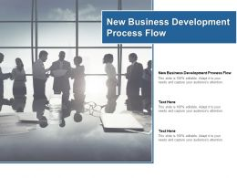 New Business Development Process Flow Ppt Powerpoint Presentation Ideas Graphic Images Cpb