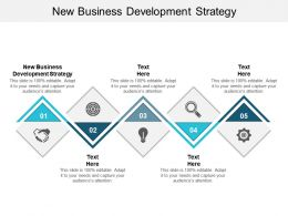 New Business Development Strategy Ppt Powerpoint Presentation Slides Graphic Tips Cpb