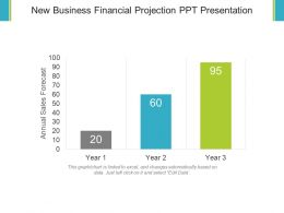 New Business Financial Projection Ppt Presentation