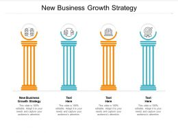 New Business Growth Strategy Ppt Powerpoint Presentation Example Cpb