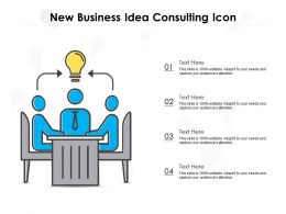 New Business Idea Consulting Icon