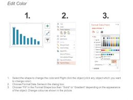 46380030 Style Circular Zig-Zag 3 Piece Powerpoint Presentation Diagram Template Slide