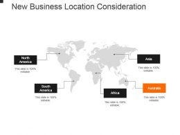 New Business Location Consideration Powerpoint Slide Designs