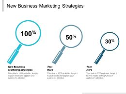 New Business Marketing Strategies Ppt Powerpoint Presentation Pictures Master Slide Cpb