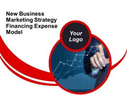 New Business Marketing Strategy Financing Expense Model Powerpoint Presentation Slides