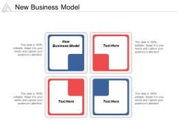 New Business Model Ppt Powerpoint Presentation Infographic Template Outfit Cpb