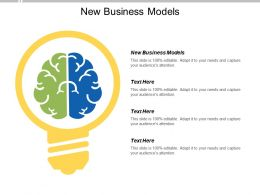 New Business Models Ppt Powerpoint Presentation Portfolio Graphics Pictures Cpb