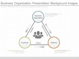New Business Organization Presentation Background Images