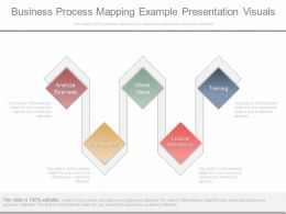 New Business Process Mapping Example Presentation Visuals