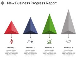 New Business Progress Report Powerpoint Guide