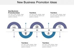 New Business Promotion Ideas Ppt Powerpoint Presentation Slides Background Image Cpb