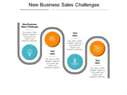 New Business Sales Challenges Ppt Powerpoint Presentation Influencers Cpb