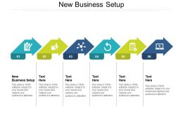 New Business Setup Ppt Powerpoint Presentation Slides Clipart Cpb