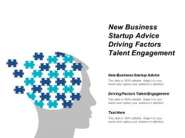 New Business Startup Advice Driving Factors Talent Engagement Cpb