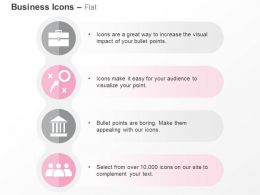 New Business Strategy Bank Team Building Ppt Icons Graphic