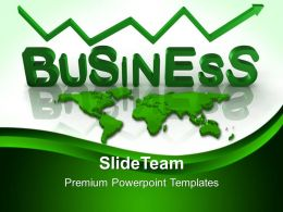 New Business Strategy Powerpoint Templates Success Global Ppt Slides