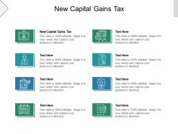 New Capital Gains Tax Ppt Powerpoint Presentation Infographic Template Icons Cpb