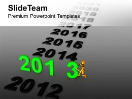 New Coming Years PowerPoint Templates PPT Themes And Graphics 0113