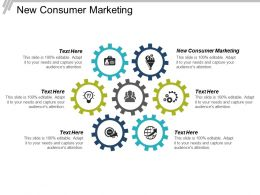 New Consumer Marketing Ppt Powerpoint Presentation File Visual Aids Cpb
