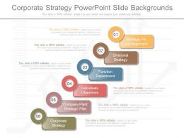New Corporate Strategy Powerpoint Slide Backgrounds