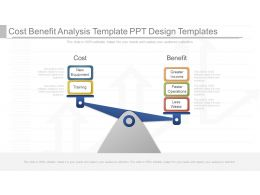 new_cost_benefit_analysis_template_ppt_design_templates_Slide01