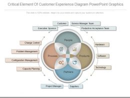 New Critical Element Of Customer Experience Diagram Powerpoint Graphics