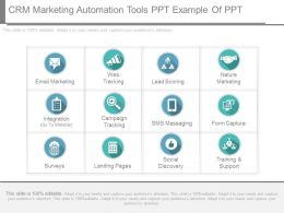 New Crm Marketing Automation Tools Ppt Example Of Ppt