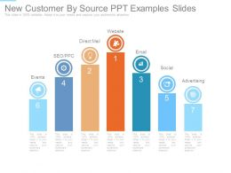 New Customer By Source Ppt Examples Slides