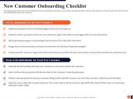 New Customer Onboarding Checklist Process Redesigning Improve Customer Retention Rate Ppt Tips