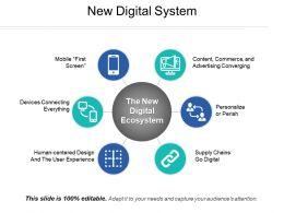 New Digital System Presentation Backgrounds