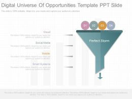 New Digital Universe Of Opportunities Template Ppt Slide