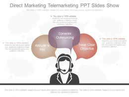 New Direct Marketing Telemarketing Ppt Slides Show
